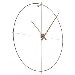Designové nástěnné hodiny Nomon Bilbao N BilbaoBN černé 110cm