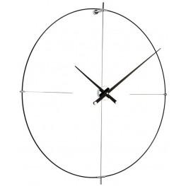 Designové nástěnné hodiny Nomon Bilbao BilbaoBB L černé 110cm