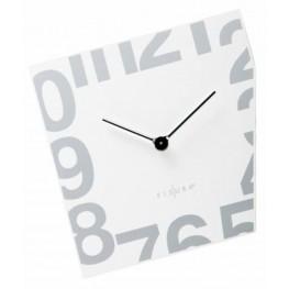 Fisura nástěnné hodiny Esquina White 357 WJ02WH 21cm