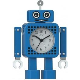 Dětský budík JVD robot modrý SRP2304.1