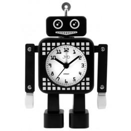 Dětský budík JVD robot černý SRP2304.3