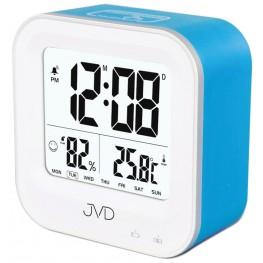 Budík svítící JVD modrý SB9909.3