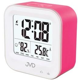 Budík svítící JVD růžový SB9909.2