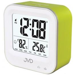Budík svítící JVD zelený SB9909.1